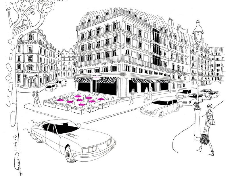 chantier de FAUCHON L'Hôtel Paris