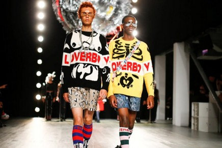 Boys will be girls: Charles Jeffrey gets sporty at LFW