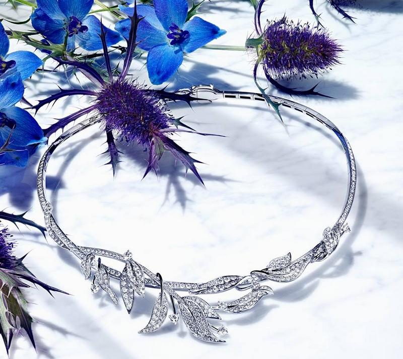 chaumet nautre-inspired tiara