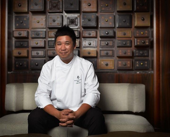 chef Tim Lam of Jiang-Nan Chun Four Seasons Hotel Singapore