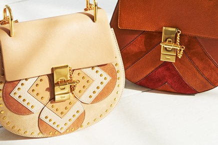 Spotlight On Chloe. The Faye bag – a new take on '70s style