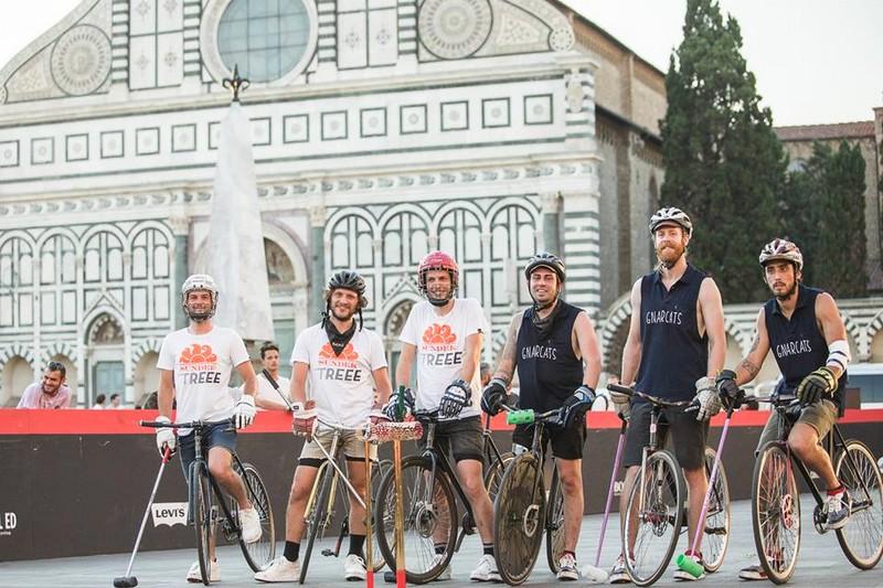 christian louboutin aurelien for bike polo at Pitti Uomo 2017