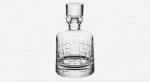 christofle graphik whisky decanter bonadea