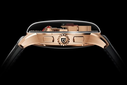 Maestro with 3D MEMO function is the first Haute Complication watch by Christophe Claret