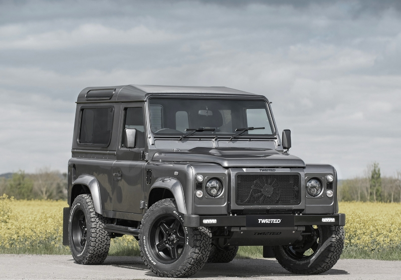 classic twisted land rover