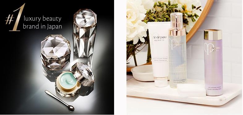 cle de peau beaute no 1 luxury beauty brand in Japan