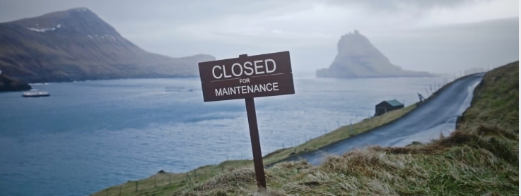 closed for maintenance faroe islands