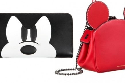 Mixing the irreverent with the iconic: Mickey Mouse designs on Coach