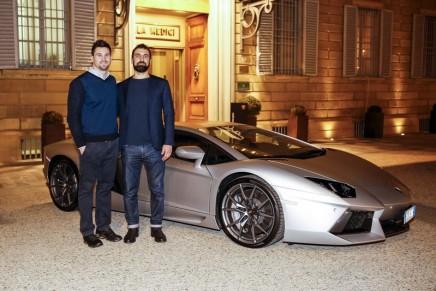Sartorial clothing and luxury carbon fibre luggage in the new Collezione Automobili Lamborghini 2016-2017 Fall-Winter
