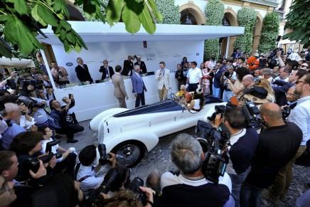 Concorso d'Eleganza Villa d'Este. The winners of the 2015 edition.