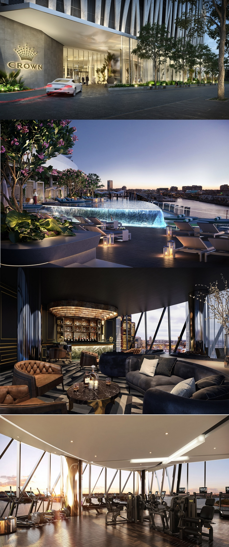 crownsydney - Crown Sydney to be a luxury, 6-star experience-2021 Opening-gallery