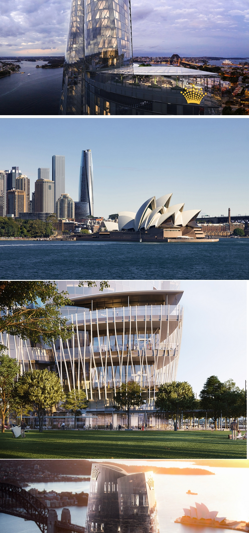crownsydney - Crown Sydney to be a luxury, 6-star experience-2021 Opening