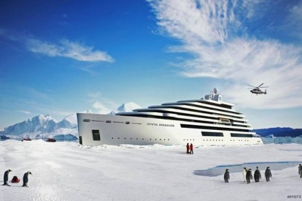 Plans for the world's first polar megayacht unveiled