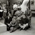 dali in a diving suit surrealism exhibition
