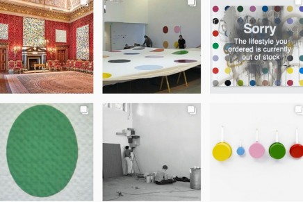 Damien Hirst hates sausages! How Instagram became art's new playground