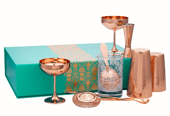 deluxe martini gift set by elyx