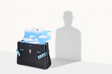 Delvaux is pulling René Magritte out a hat