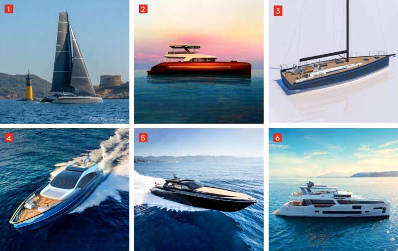 design boats to be admired during 2019 Cannes Yachting Festival 2019