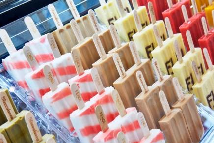 Lick and it's gone: Fendi's designer ice-cream
