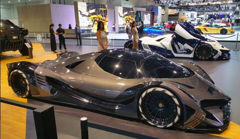 devel_sixteen area at dubai motor show 2017