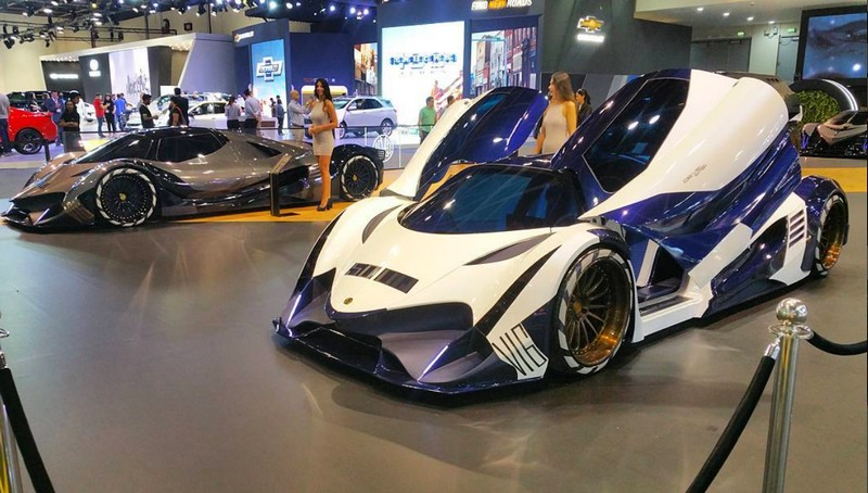 Hp Devel Sixteen >> 5007 HP Devel Sixteen production version launched at Dubai Motor Show 2017