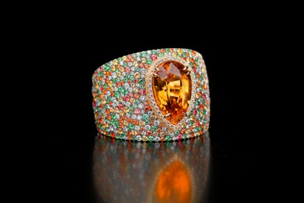 Jean Boulle's gem quality natural diamond finishlaunched at the Geneva Motor Show 2016