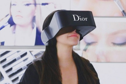 Dior eyes. Maison's100% 3D-printed VR headset.