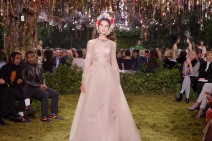 Dior offers pure escapism with fairytale haute couture show
