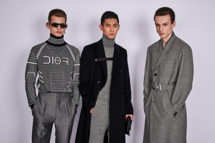 Lasers and metallic blazers at Dior menswear debut in Tokyo