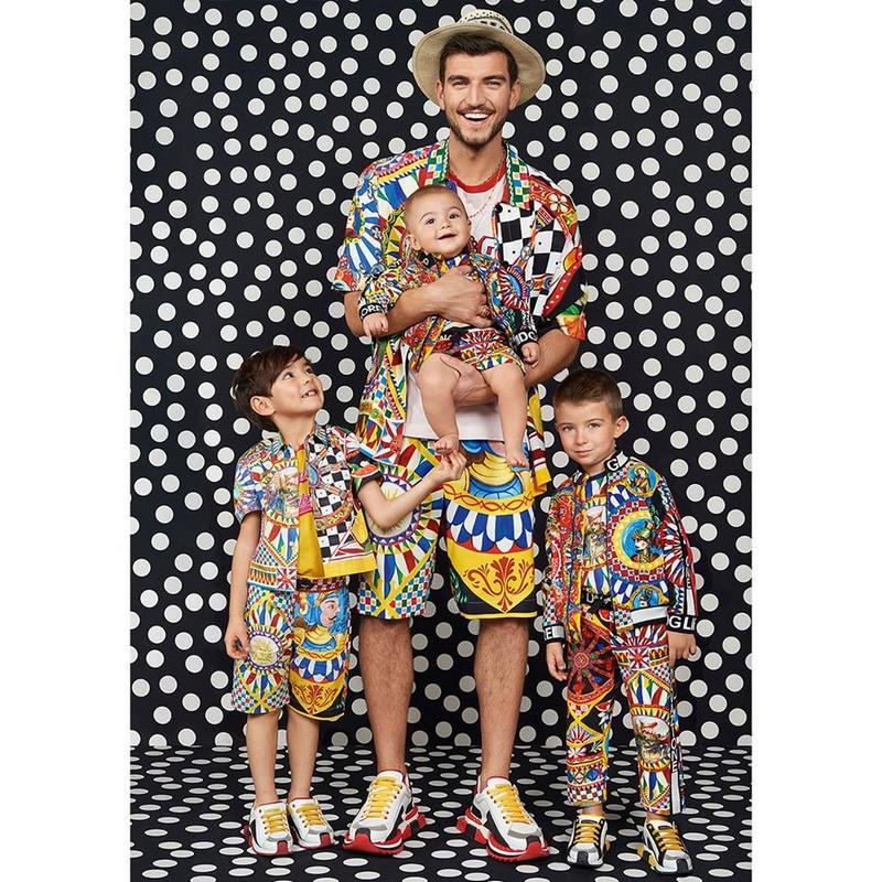dolce & gabbana kidswear April 2019-