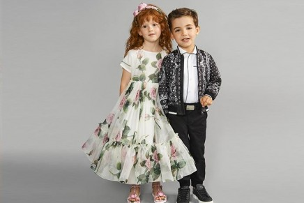 Pitti Bimbo 2019: Dolce & Gabbana Spring – Summer 2020 for the little ones