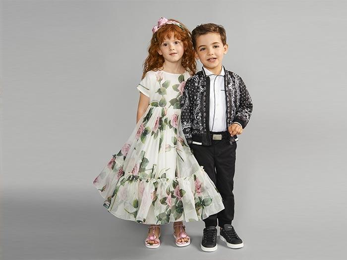 dolce & gabbana ss2020 kidswear