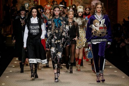 Dolce & Gabbana's new show is declaration of love to fashion industry