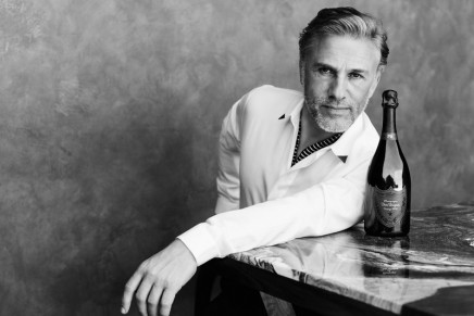 Touched with plénitude with Christoph Waltz. Meet the Ultimate Dom Pérignon