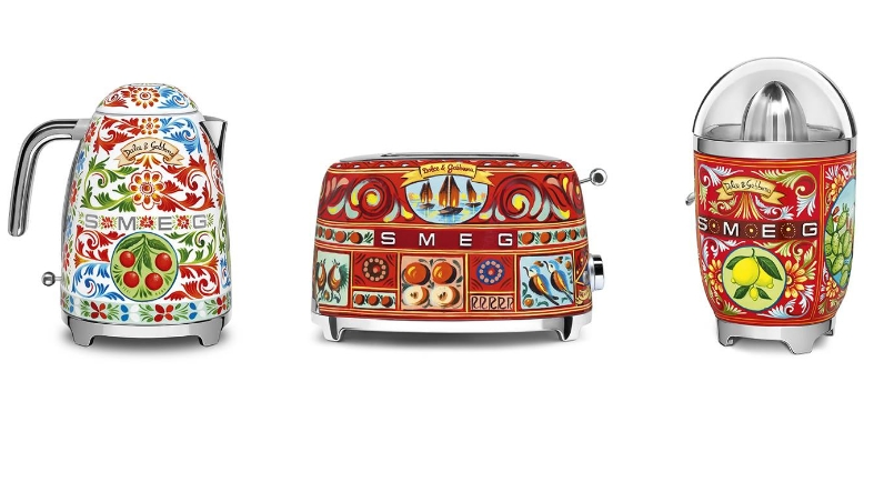 domestic appliances by Dolce&Gabbana x Smeg -2018 collaboration