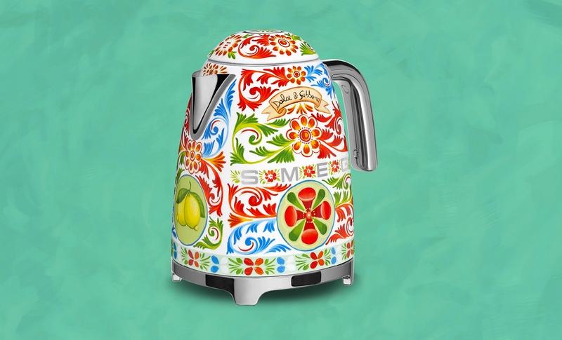 domestic appliances by Dolce&Gabbana x Smeg kettle