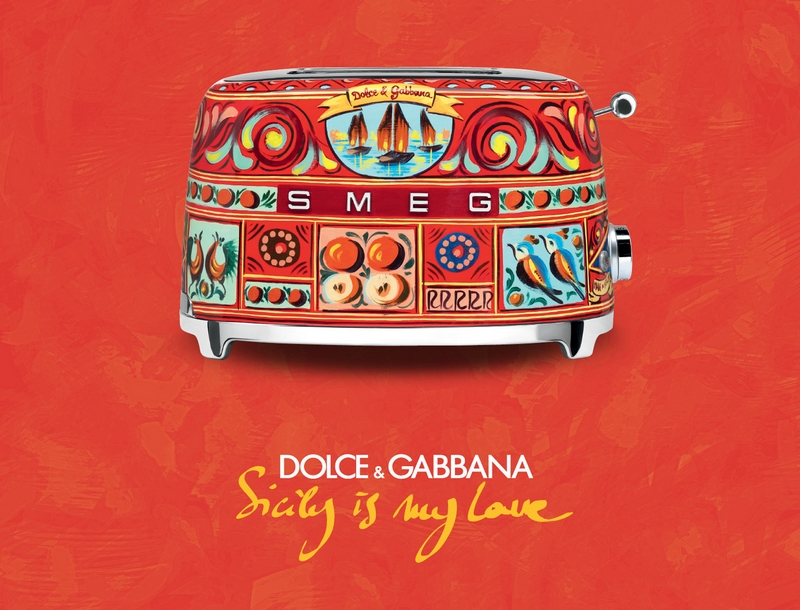 domestic appliances by Dolce&Gabbana x Smeg toaster