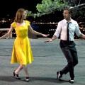 dopamine dressing La La Land yellow dress