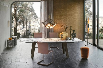 When history becomes stone and stone becomes a piece of furniture: draenert at imm cologne