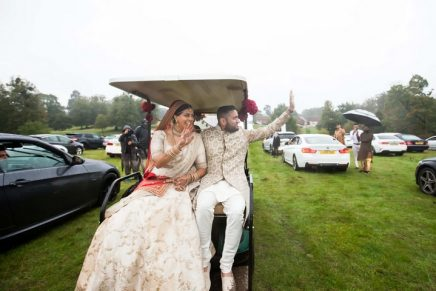 Drive-in wedding in Essex bypasses coronavirus guest limit
