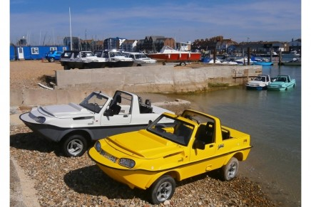 Dutton Surf amphibious vehicle preview: 'A cross between a car and a rubber duck'