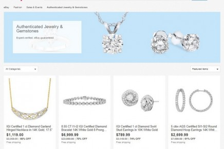 eBay Authenticate service extended into the luxury jewelry category