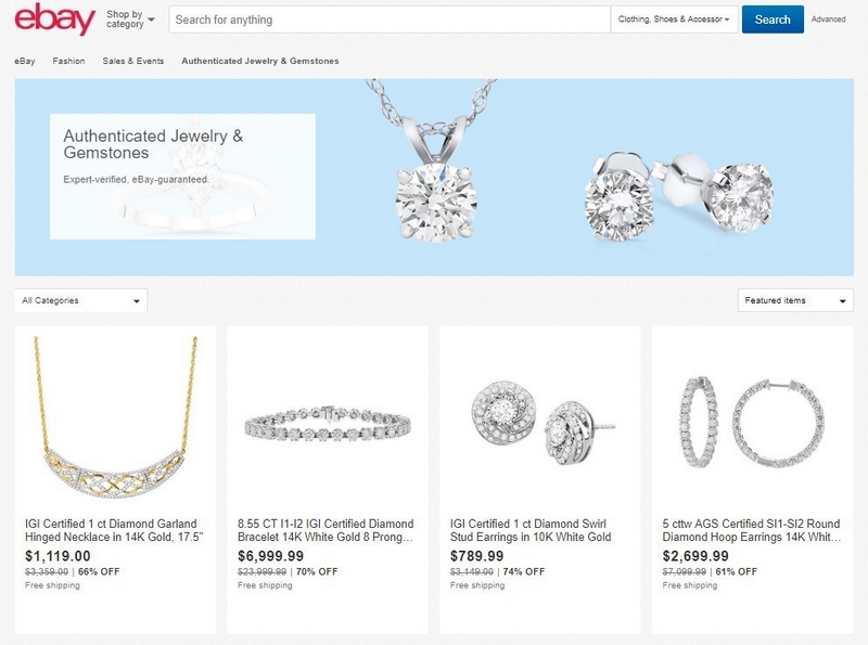 ebay authenticate jewelry service 2018