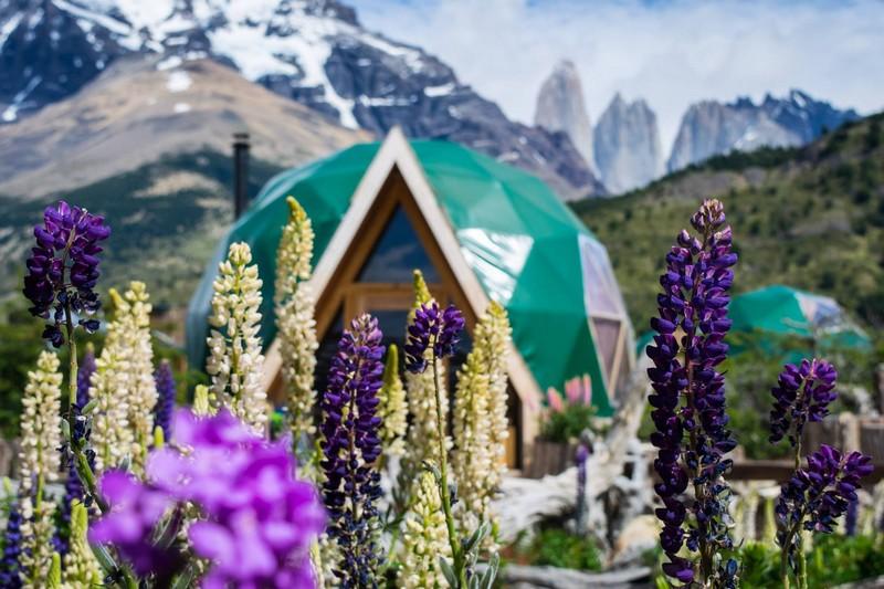 ecocamp patagonia -