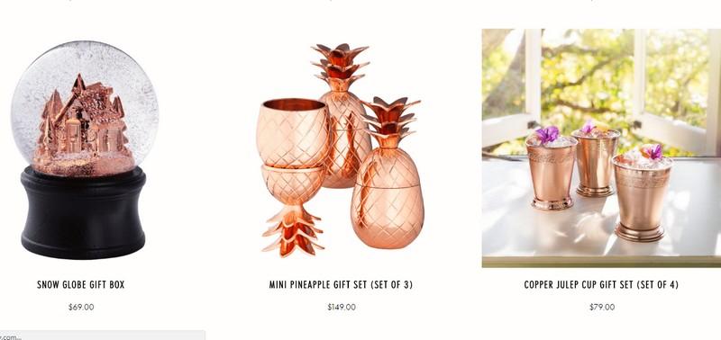 elyx boutique copper items