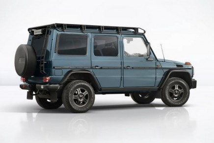 G-Class Limited Edition – a special kind of Alpine accolade