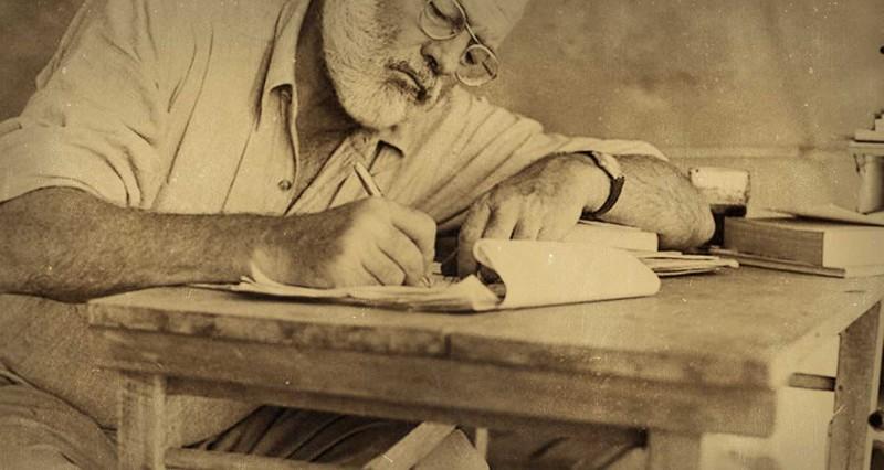 ernest hemingway the writer--