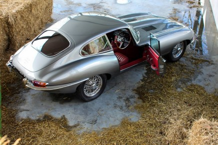 Jaguar E-Type: 'It tops out at a Brylcreem-ruffling 146mph'