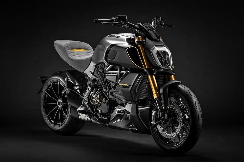 exclusive Ducati Diavel1260 S Materico concept bike built for Milan Design Week 2019-01
