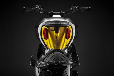 The exclusive Ducati Diavel1260 S Materico concept bike built for Milan Design Week 2019